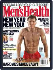 Men's Health (Digital) Subscription January 4th, 2012 Issue