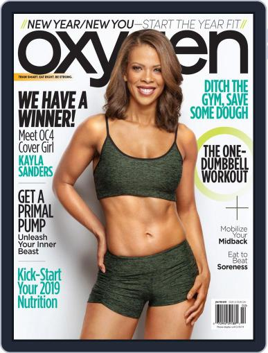 Oxygen (Digital) January 1st, 2019 Issue Cover