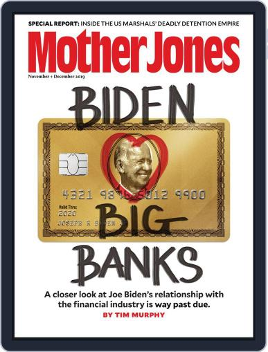 Mother Jones (Digital) November 1st, 2019 Issue Cover