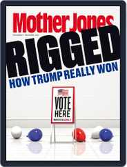 Mother Jones (Digital) Subscription November 1st, 2017 Issue