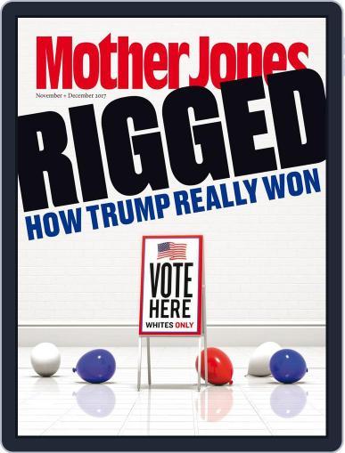 Mother Jones (Digital) November 1st, 2017 Issue Cover