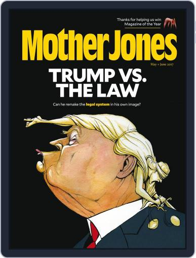 Mother Jones (Digital) May 1st, 2017 Issue Cover