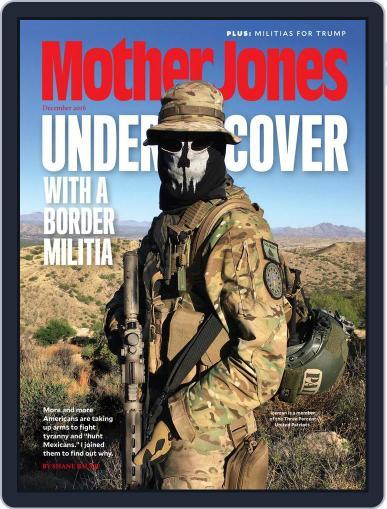 Mother Jones (Digital) December 1st, 2016 Issue Cover