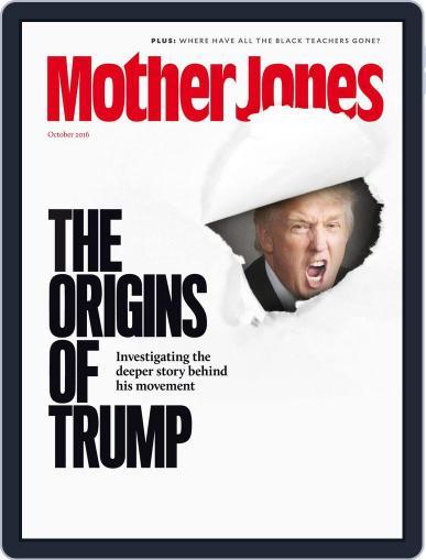 Mother Jones (Digital) September 1st, 2016 Issue Cover