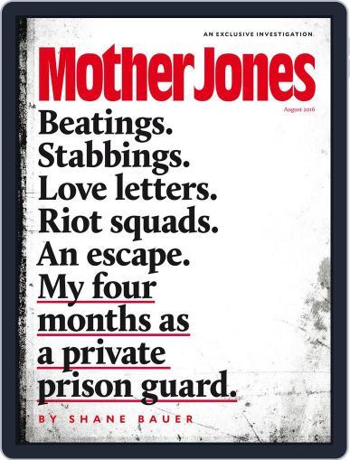 Mother Jones (Digital) June 23rd, 2016 Issue Cover