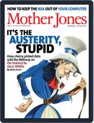 Mother Jones (Digital) Subscription August 15th, 2013 Issue