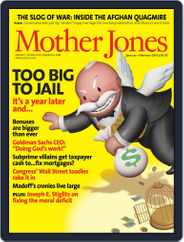 Mother Jones (Digital) Subscription December 16th, 2009 Issue