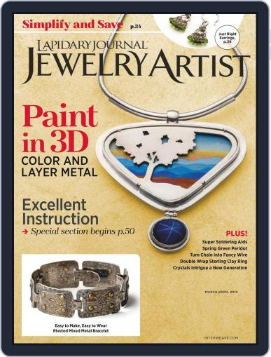Lapidary Journal Jewelry Artist March 1st, 2019 Digital Back Issue Cover