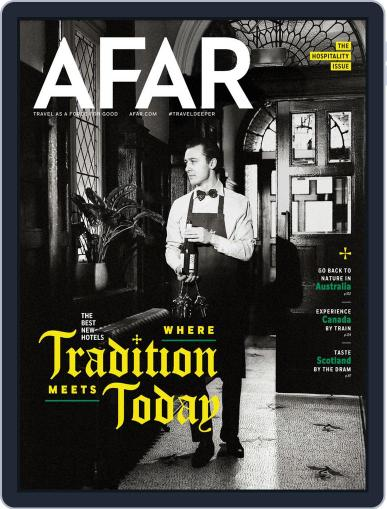 AFAR (Digital) May 1st, 2020 Issue Cover