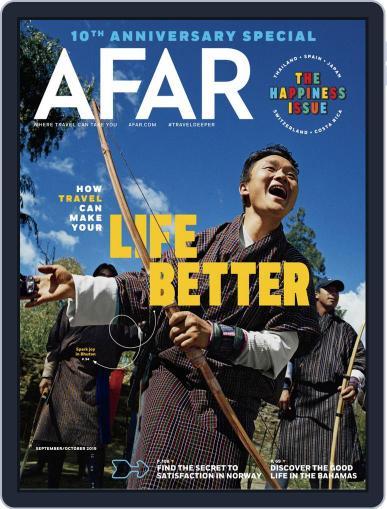 AFAR (Digital) September 1st, 2019 Issue Cover