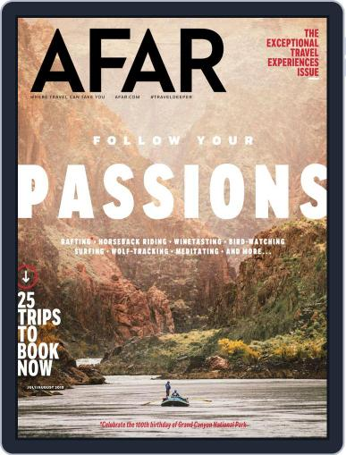 AFAR (Digital) July 1st, 2019 Issue Cover