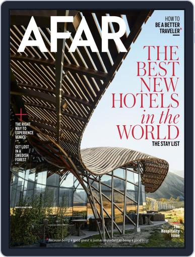 AFAR (Digital) May 1st, 2019 Issue Cover