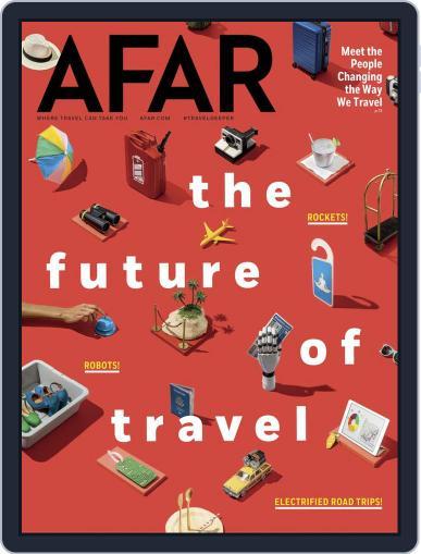 AFAR (Digital) November 1st, 2018 Issue Cover