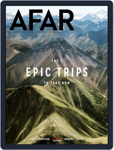 AFAR (Digital) July 1st, 2018 Issue Cover