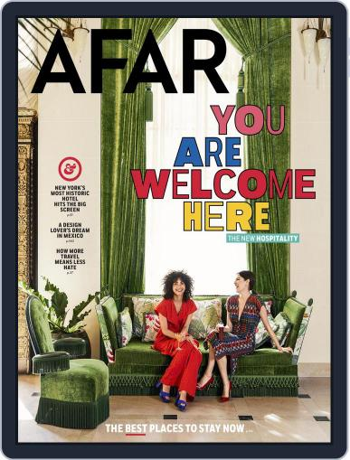 AFAR (Digital) May 1st, 2018 Issue Cover