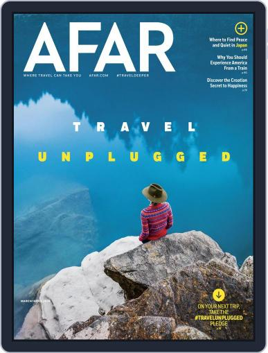 AFAR (Digital) March 1st, 2018 Issue Cover