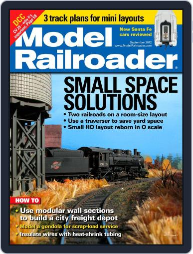 Model Railroader (Digital) July 21st, 2012 Issue Cover