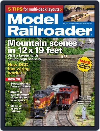 Model Railroader (Digital) June 23rd, 2012 Issue Cover