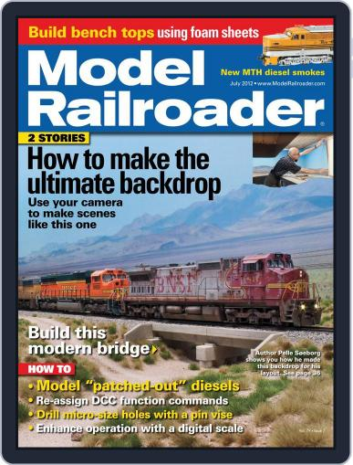 Model Railroader (Digital) May 26th, 2012 Issue Cover