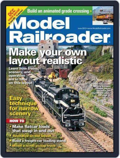 Model Railroader (Digital) April 21st, 2012 Issue Cover