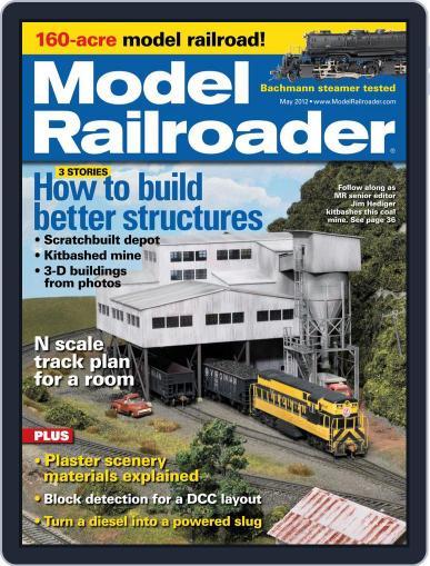 Model Railroader (Digital) March 24th, 2012 Issue Cover