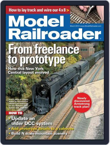 Model Railroader (Digital) January 21st, 2012 Issue Cover