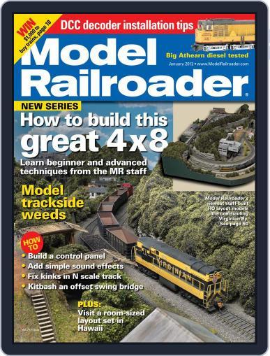 Model Railroader (Digital) November 28th, 2011 Issue Cover