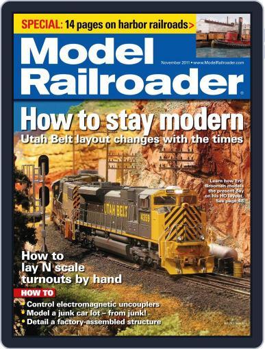 Model Railroader (Digital) October 5th, 2011 Issue Cover