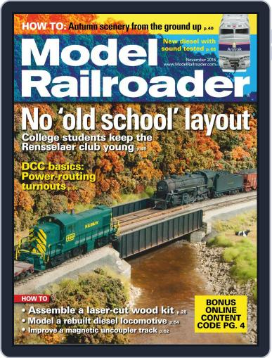 Model Railroader (Digital) January 1st, 1970 Issue Cover