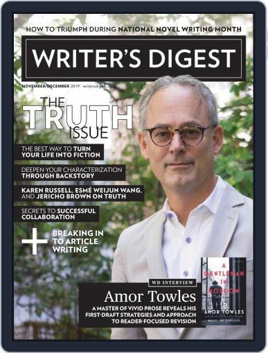 Writer's Digest (Digital) November 1st, 2019 Issue Cover