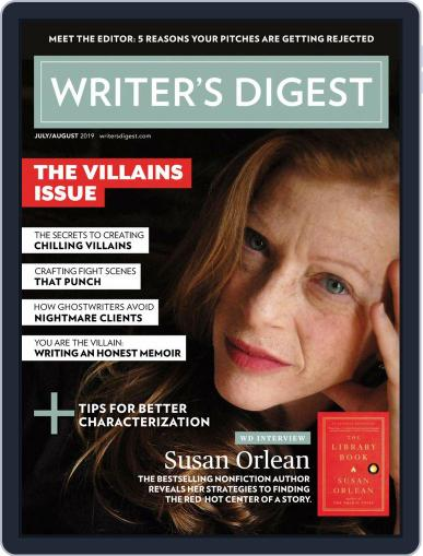 Writer's Digest (Digital) July 1st, 2019 Issue Cover