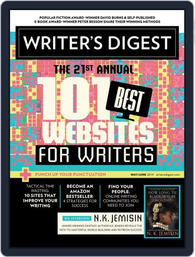 Writer's Digest (Digital) May 1st, 2019 Issue Cover
