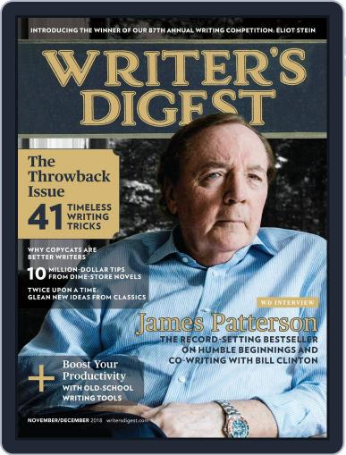 Writer's Digest (Digital) November 1st, 2018 Issue Cover