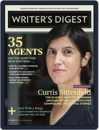 Writer's Digest (Digital) October 1st, 2018 Issue Cover