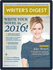 Writer's Digest (Digital) Subscription January 1st, 2016 Issue