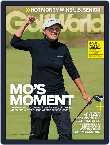 Golf World (Digital) July 15th, 2014 Issue Cover