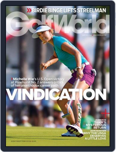 Golf World (Digital) June 24th, 2014 Issue Cover