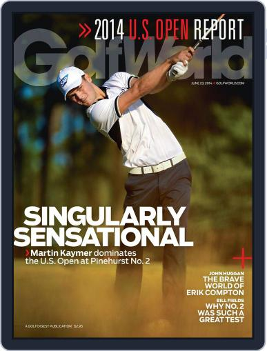 Golf World (Digital) June 17th, 2014 Issue Cover