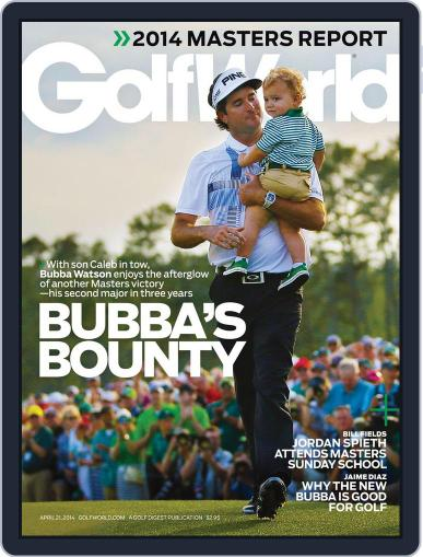 Golf World (Digital) April 15th, 2014 Issue Cover