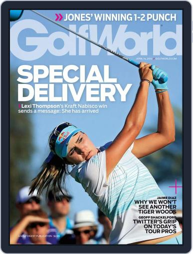 Golf World (Digital) April 8th, 2014 Issue Cover