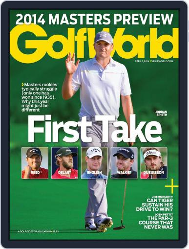 Golf World (Digital) April 1st, 2014 Issue Cover