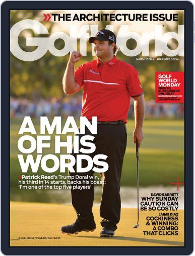 Golf World (Digital) March 11th, 2014 Issue Cover