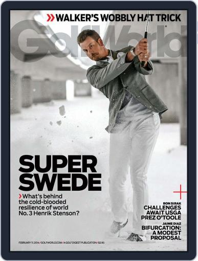 Golf World (Digital) February 11th, 2014 Issue Cover