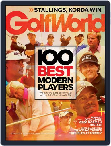 Golf World (Digital) January 28th, 2014 Issue Cover