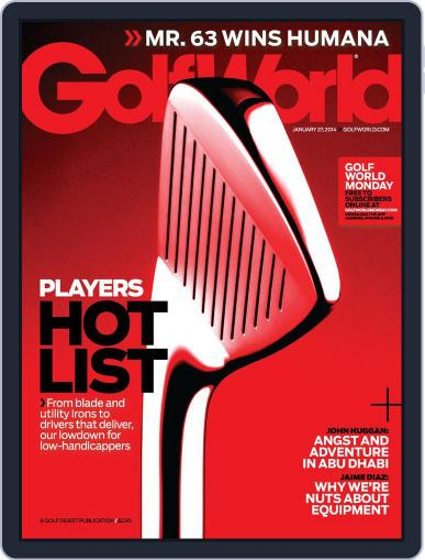 Golf World (Digital) January 21st, 2014 Issue Cover