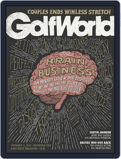 Golf World (Digital) November 7th, 2013 Issue Cover