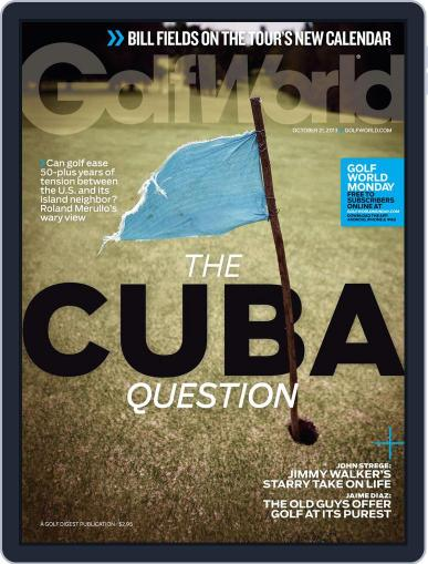 Golf World (Digital) October 17th, 2013 Issue Cover