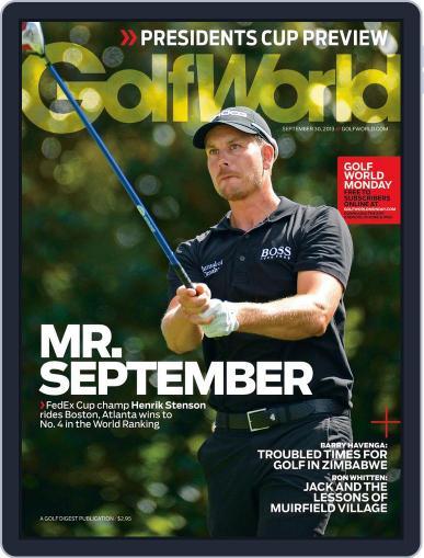 Golf World (Digital) September 26th, 2013 Issue Cover