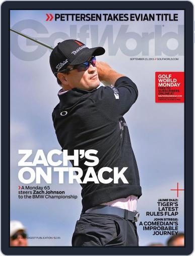 Golf World (Digital) September 19th, 2013 Issue Cover