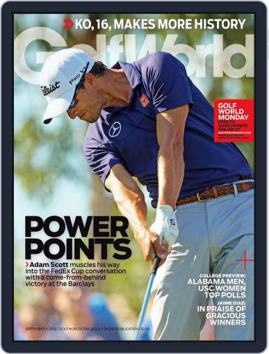 Golf World (Digital) August 29th, 2013 Issue Cover